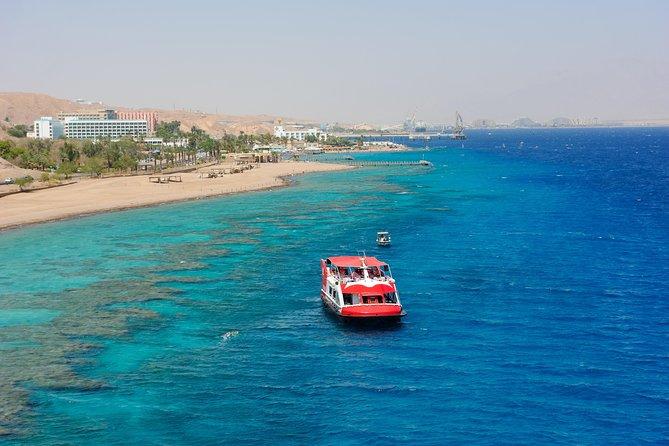 Glass Bottom Boat Cruise in Eilat
