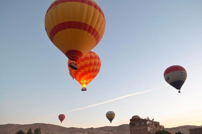 Luxor Two Days Tour From Hurghada with Hot air Balloon