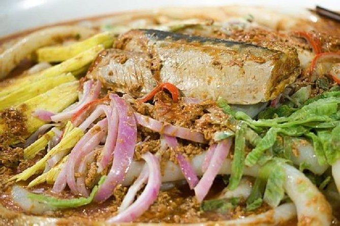 World famous Penang hawker dish Assam Laksa @George Town