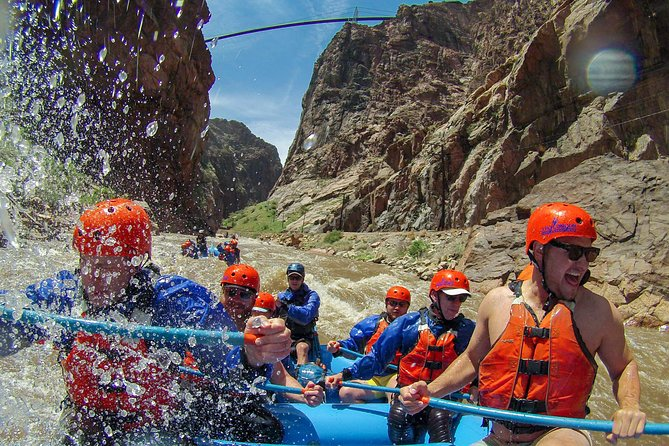 Rafting under the Royal Gorge Bridge