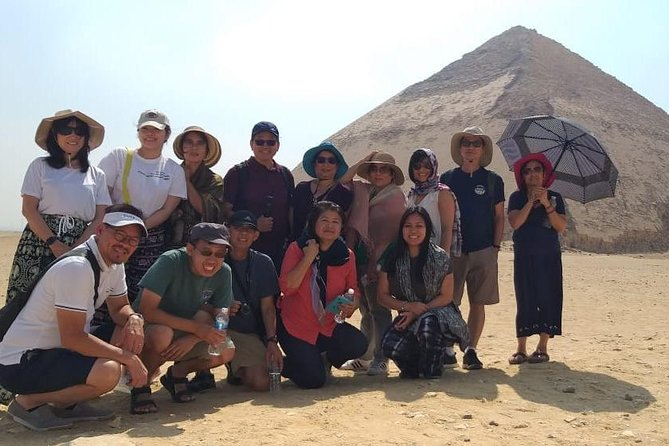 Private Day Tour to Pyramids,Saqqara,Memphis & Dahshur with Lunch and Camel ride