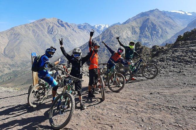 "Farellones ""Apu Wamani"" Mountain Bike Tour (Advanced Riders)"