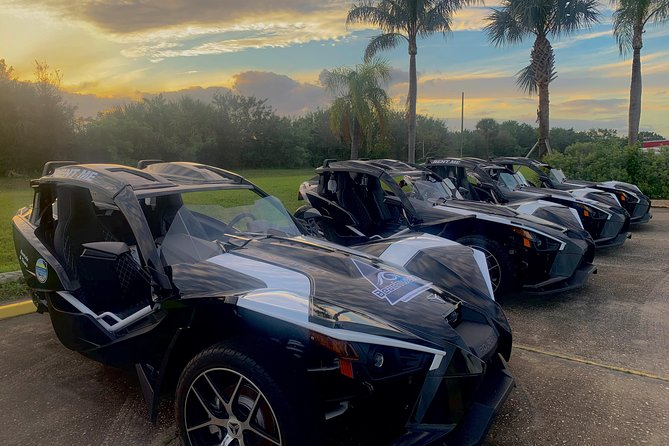 24-Hour Polaris Slingshot Deluxe Exploration Rental (for up to 2 people)