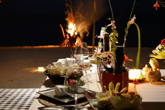 Amazing Lombok BBQ Beach Sunset Dinner