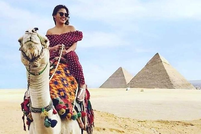 Came or a Horse Ride at the Pyramids of Giza Area