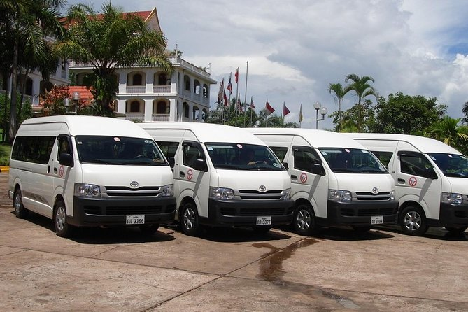 Airport transfer from Hotel in Pakse to Airport