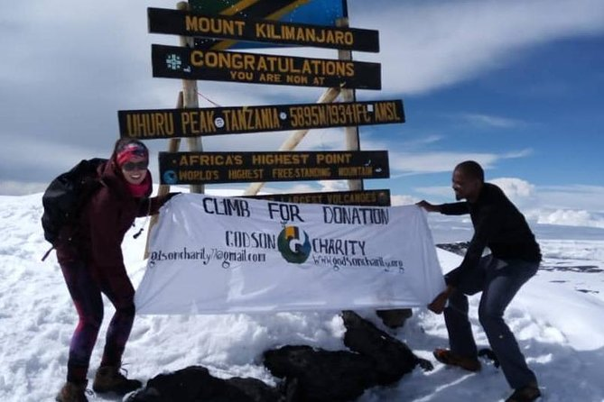 Machame 7 Days Kilimanjaro For Charity photo 1