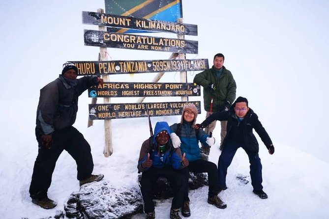 Machame 7 Days Kilimanjaro For Charity photo 4
