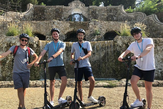 Electric scooter tour guide