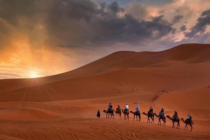 4 Day Desert Tour from Marrakech to Fes via Merzouga Sahara (Erg Chebbi)