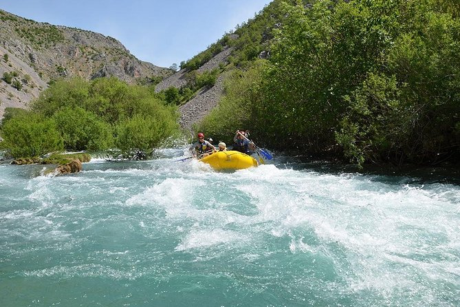 Zrmanja Rafting Private Tour & FREE transfer from or to the airport included