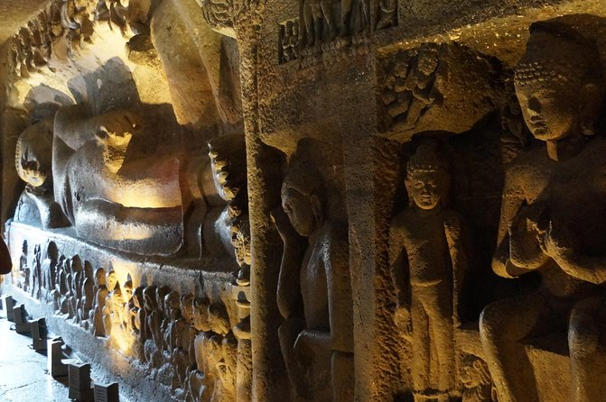 Ellora-Ajanta two days taxi service with other attractions
