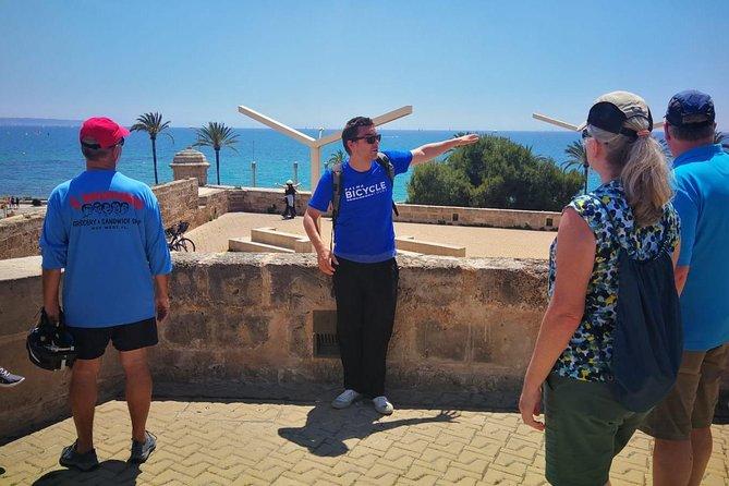 Palma de Mallorca Shore Excursion: Bike Tour with Cathedral and Parc de la Mar