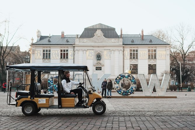 Krakow sightseeing by eco friendly vehicle (Melex)