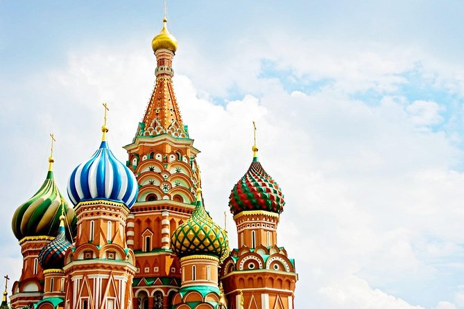 Welcome to Moscow by walking! (Full Day Classic Sites + Metro Tour)