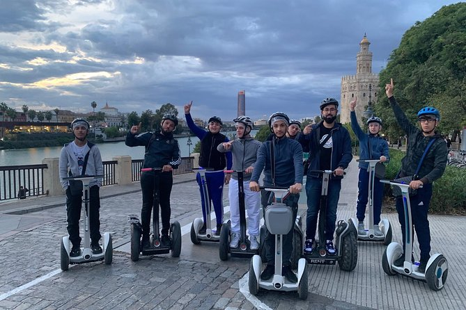 Segway route through the historic center of Seville