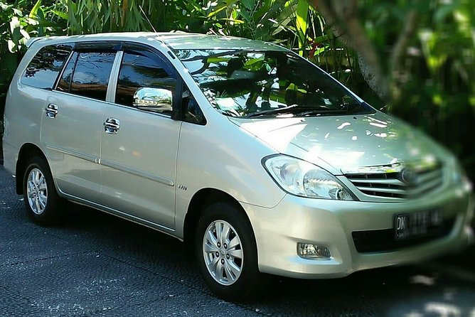 Bali Private Car Hire with English Speaking Driver