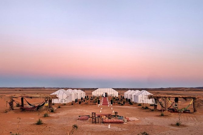 7 day Morocco itinerary- Marrakech to Merzouga Tour including Luxury Desert Camp