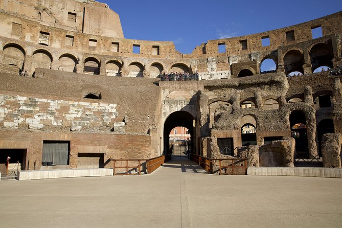 Colosseum With Arena & Underground Private Tour