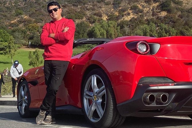 20 Mins PRIVATE Ferrari Drive from Hollywood Blvd to Sunset Blvd