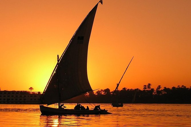 Private Egyptian Felucca ride on the Nile at sunset in Cairo photo 2
