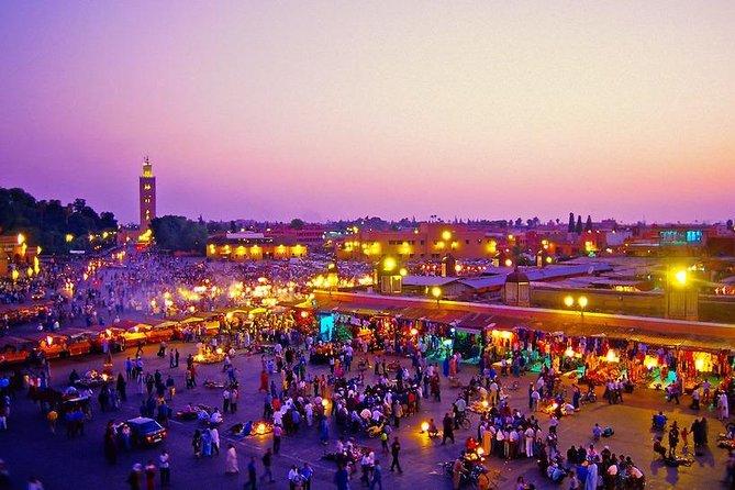 Intercity Transfer: Casablanca, Marrakech