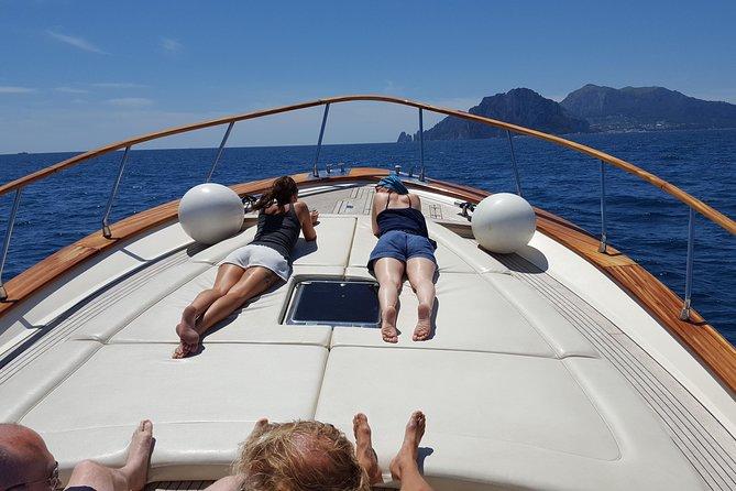 Private Boat Tour: Capri and Positano from Capri