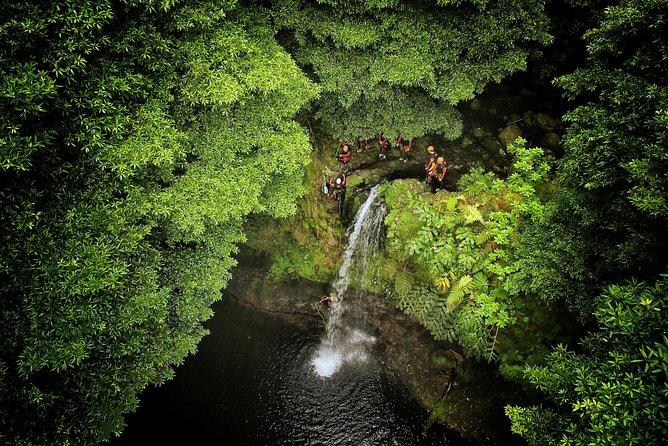 Canyoning Adventure in Ribeira da Salga (Sao Miguel - Azores)