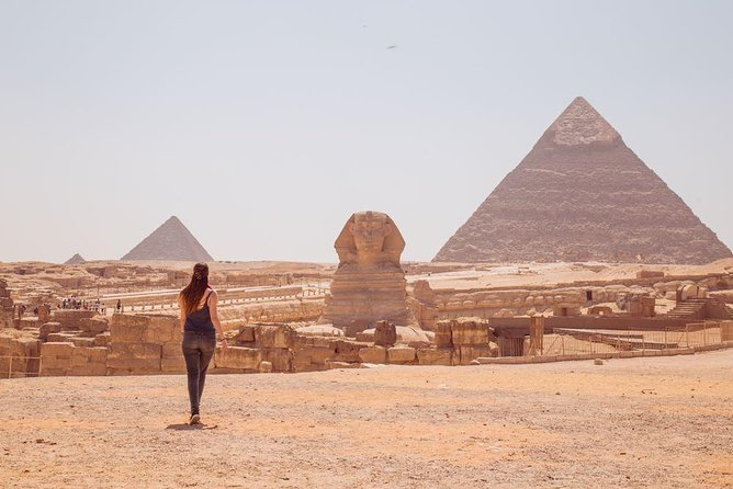 Full day tour to GIZA PYRAMIDS ,MEMPHIS CITY, AND SAKKARA PYRAMID