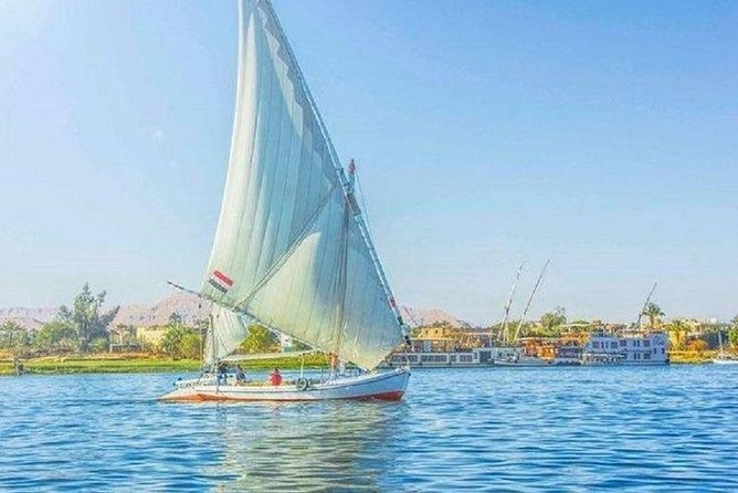 Luxor Half Day Felucca Boat Ride with Banana Island Visit