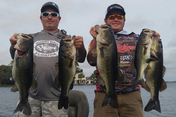 Tampa Bass Fishing Guide on Lake Tarpon