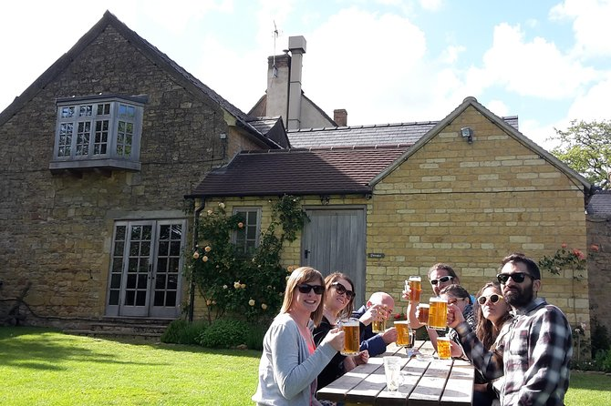 Brewery & Cotswolds Pub Tour from Stratford-upon-Avon