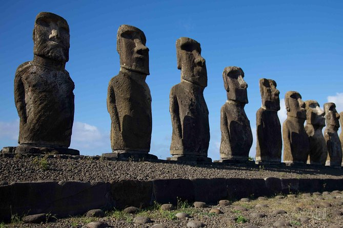 The Seven Moais in Easter Island
