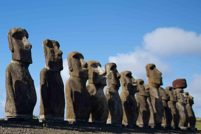 The Seven Moais in Easter Island photo 3