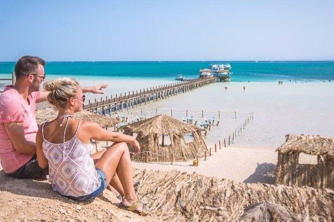 Orange Bay On White Sand From Hurghada
