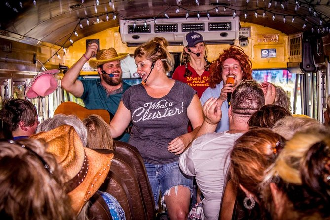 Nashville Rollin' Jamboree Comedy Country Sing-Along City Bus Tour