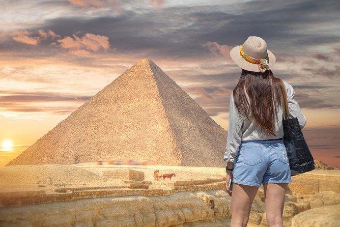 Private Tour Giza Pyramids, Egyptian Museum, Khan el Khalili