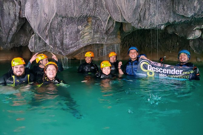 Canyoning, abseiling, natural slides, hiking in Guadalajara