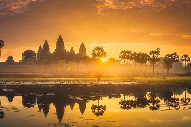 Angkor Wat Sunrise Private Tour - Free Hotel Pickup