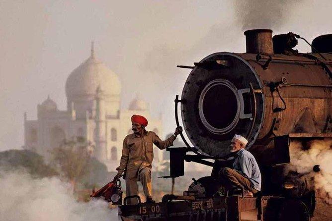 Scenic Taj Mahal tour by India's fastest Train