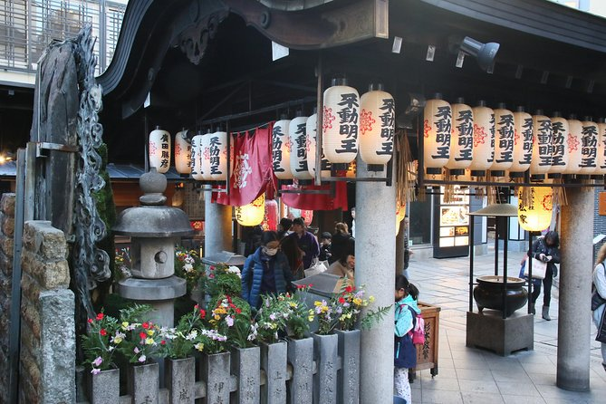 Kuromon, Houzenji & Namba area walking tour