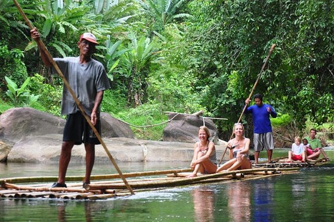 Bamboo Rafting, ATV Riding and Zip Line Tour From Phuket
