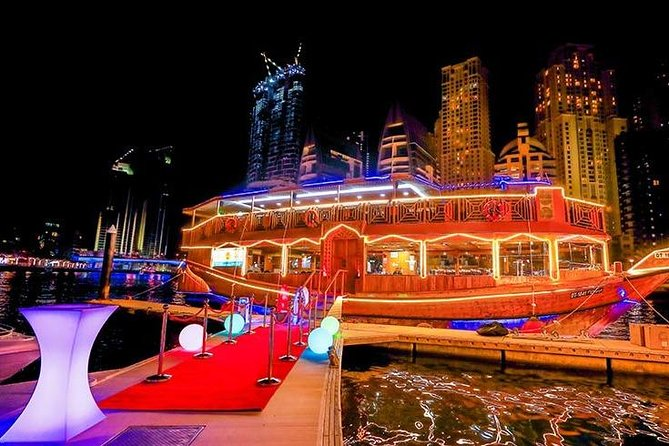 Unlimited Liquor With Dinner Dhow Cruise - MARINA