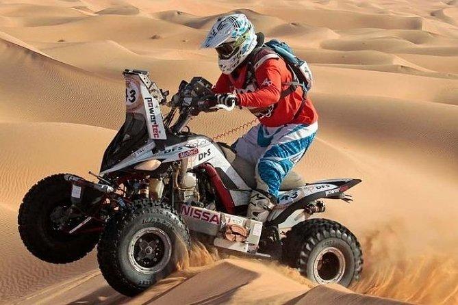 Evening Desert Safari + Quad Bike, Dune Bashing & BBQ Dinner & Live Show