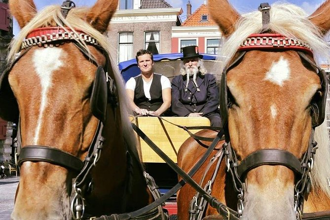 Guided Horse Tram or Horse-Drawn Carriage Tour through Historic Delft