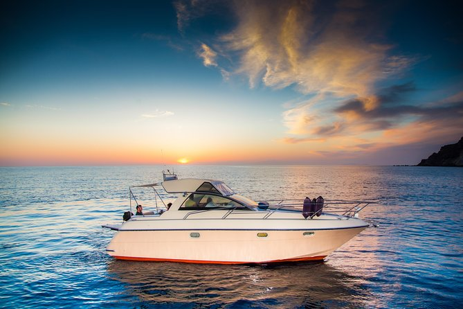 Santorini 5 - Hours Private Day Or Sunset Cruise with Bbq and Drinks