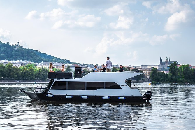 3-hours Prague Private Boat River Cruise
