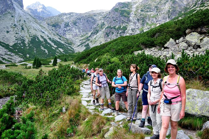8 Days Short Group Walking Tour in High Tatras from Bratislava