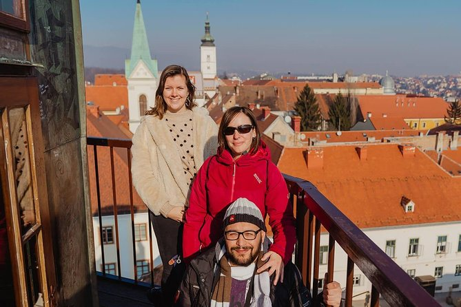 Best of Zagreb Small Group Tour with Funicular Ride, Cannon Shot and WW2 Tunnels