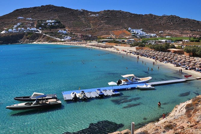 3 Hour Private Cruise – South Coastline Of Mykonos